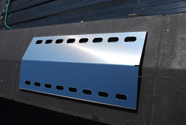 430 mm x 235 mm Edelstahl Flammenverteiler