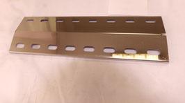 385 mm x 120 mm x 1mm V4A Spiegel poliert Edelstahl Flammenverteiler