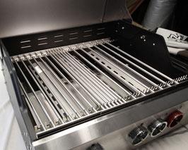 HZ1BBQ Grillrost aus V2A Edelstahl Komplett-Bausatz