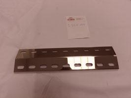 390mm x 100mm x 1mm V4A Spiegel poliert Edelstahl Flammenverteiler