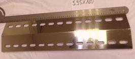 595 mm x 160 mm Edelstahl Flammenverteiler