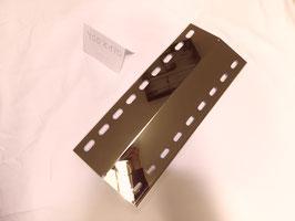 400 mm x 170 mm V4A Spiegel poliert Edelstahl Flammenverteiler