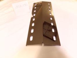 380 mm x 150 mm V4A Edelstahl Spiegel poliert Flammenverteiler