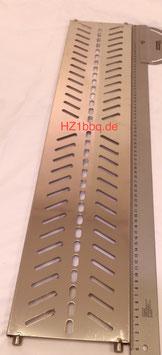 760mm x 160mm Edelstahl Grill-Ablage / Warmhaltebereich