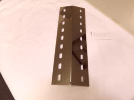 435 mm x 150 mm x 1mm  V4A Edelstahl Premium Spiegel Flammenverteiler