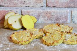 Herzhafte Birnen-Kartoffel-Puffer