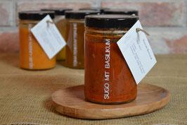Tomatensauce / Sugo mit Basilikum