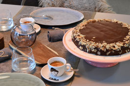 Schoko-Mandel-Kuchen - glutenfrei