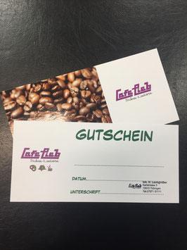 Wertgutschein Cafe Lieb