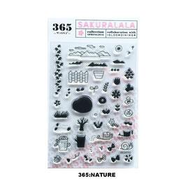 365 クリアスタンプ (collection SPRING)
