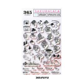 365 クリアスタンプ (collection WINTER)