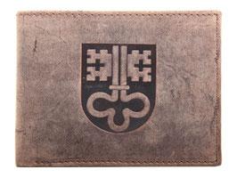 Portemonnaie mit Niedwalder Wappen Prägung