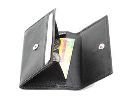 Mini Portemonnaie Nr.1701 - Schwarz