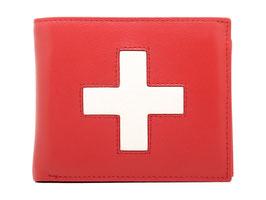 Portemonnaie Nr.3101 mit Schweizerkreuz - Rot