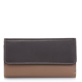269-128 Trifold with Outer Zip Purse - Mocha
