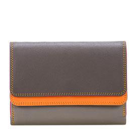 250-164 Double Flap Purse / Wallet - Fumo