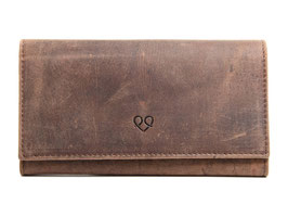 Damenportemonnaie Nr.3803 Antikbraun