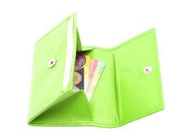 Mini Portemonnaie Nr.1701 - Apfelgrün