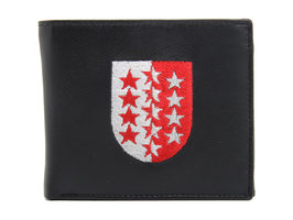 Portemonnaie Nr.3101 mit gesticktem Walliser Wappen