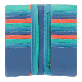 213-2 Breast Pocket Wallet - Aqua