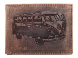 Portemonnaie mit VW Bus Prägung