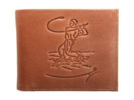 EMME Leder - Portemonnaie mit Hornusser Prägung
