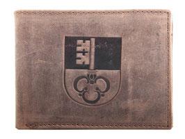Portemonnaie mit Obwalder Wappen Prägung