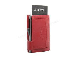 SecWal Kreditkartenetui - Cherry