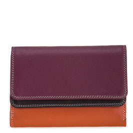 250-136 Double Flap Purse / Wallet - Chianti