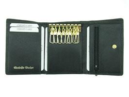 Rodolfo Design Schlüsseletui mit 8 Schlüsselhäckchen