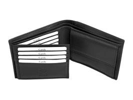 Portemonnaie - Nr.2013 - Schwarz