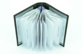 Kreditkartenetui mit Kunststoffeinsatz Nr.5206