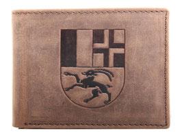 Portemonnaie mit geprägtem Bündner Wappen