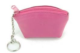 Schlüsseletui / Münzbeutel - Pink