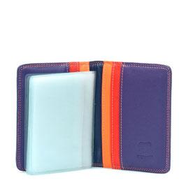 131-75 Credit Card Holder w/Plastic Inserts - Sangria