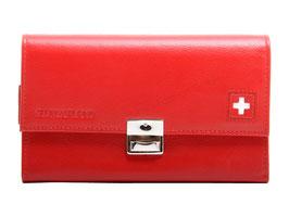 Serviceportemonnaie - Rot mit Schweizerkreuz