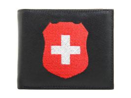 Portemonnaie Nr.3101 mit gesticktem Schweizer Wappen
