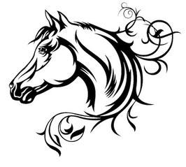 Läsergravur Pferd-1
