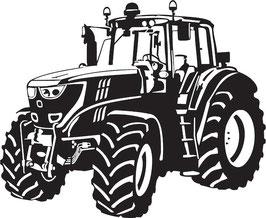 Läsergravur Traktor-2