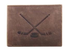 Portemonnaie mit Hockeyschläger Prägung