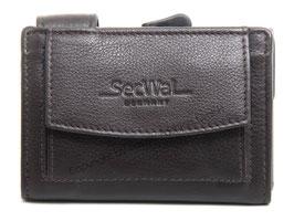SecWal Kreditkartenetui - Dunkelbraun