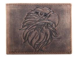 Portemonnaie mit Adler Prägung