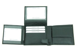 Herrenportemonnaie mit 2 Klappen - Nr.2002