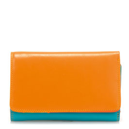 363-115 Medium Tri-fold Wallet w/Outer Zip Purse - Copacabana