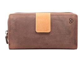 Portemonnaie Nr.3806 - Multicolor Braun