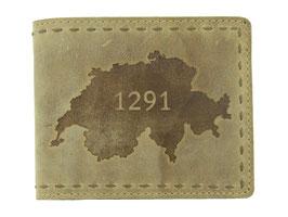 """Portemonnaie mit 1291 Prägung """"Nr.3050"""""""