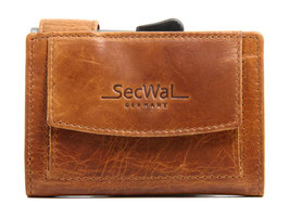 SecWal Kreditkartenetui - Dallas Braun
