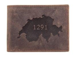 Portemonnaie mit 1291 Prägung