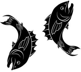 Läsergravur Fisch