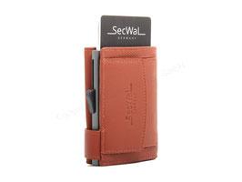 SecWal Kreditkartenetui -Orange